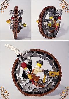 photo Legos, Steampunk Lego, Lego Club, Lego Jurassic, Lego Craft, All Lego, Cool Lego Creations, Lego Design, Lego Worlds