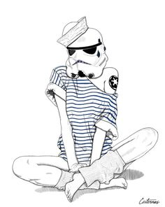 AFA - artforadults - normal life stormtroopers by Cisternas ...