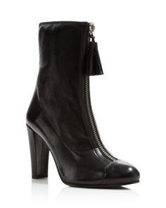 Stuart Weitzman Frontzip Tassel High Heel Boots | Bloomingdale's