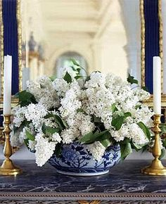 Decorating With Blue and White - A Perennial Spring Favorite