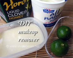 DIY Beauty: simple homemade makeup remover