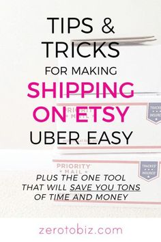 Tips and Tricks for Shipping on Etsy