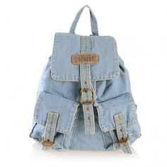 Old Blue Jeans Backpack - I want this but its shipping from HK using USD