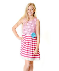 Pink Sun Kissed Embroidered Dress - Infant & Toddler