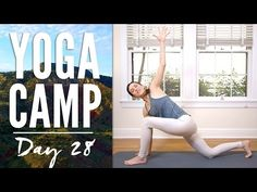 Yoga Camp, Day 30! You are coming up with the mantra today! You are guiding this practice. This journey has been so rewarding. Thank you for your willingness...