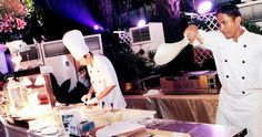 Ismaya Catering Co.'s Live Cooking Stations
