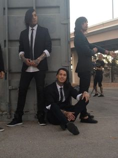 Tony Perry, Mike Fuentes & Vic Fuentes
