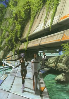 Citadel Space Station, Mass Effect, 2007.