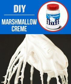 Homemade Marshmallow Creme | 29 Foods You Didn't Know You Could DIY