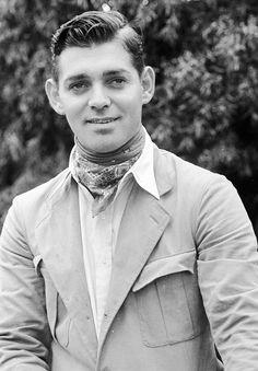 Clark Gable very early photograph