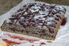 Meggyes-mákos szelet - GastroHobbi Poppy Cake, Banana Bread, Food, Essen, Meals, Yemek, Eten