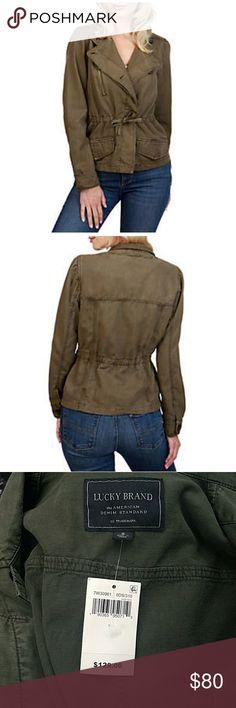 Lucky Brand Asymmetrical Military Jacket Lucky Brand Asymmetrical Military Jacket Lucky Brand Jackets & Coats