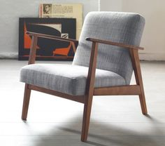 Mid-Century Modern Design & Decorating Guide - FROY BLOG - Mid-Century Modern Lounge Chair
