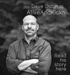 Dave Dubin... Mr. January in The Colon Club's Colondar... baring his scar and sharing his story... check it out!