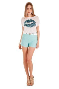12333 - Blusa | 05552 - Shorts