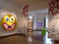 Exposition «Happy Art» au musée de Pau - été 2012.