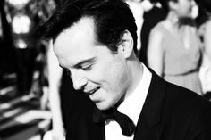 Andrew Scott! - I know he's gay, but a girl can always dream the impossible dream!  AND he got a great review for Hamlet from Ben Brantley in the NYT!