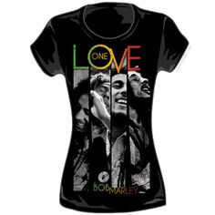 Bob Marley - One Love Stripe Women's T Shirt