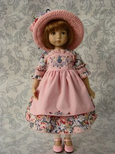 """Outfit for doll 13"""" Little Darling by Dianna Effner 