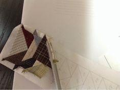 Coser y Coser Patchwork: Tutorial Vuelo de la Oca. Diy, Blog, Ideas, Quilting Patterns, Little Things, Quilts, Sewing Patterns, Appliques, Tutorials