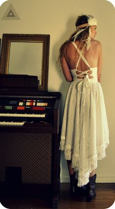 gypsy wedding dress?...yes please!