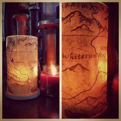 Skyrim map candle