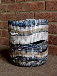 Paper basket * BluReco