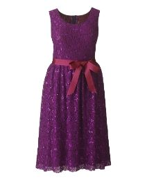 """""""Rise"""" Rise Alexia Sequin Lace Dress at Simply Be"""