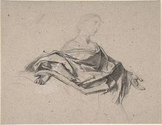 Half-Length Figure of a Woman with Outstretched Arms Artist: François-Claudius Compte-Calix (French, Lyon 1813–1880 Chazay d'Azergues) Medium: Charcoal Dimensions: 6 13/16 x 8 15/16 in. (17.3 x 22.7 cm) Classification: Drawings Credit Line: The Elisha Whittelsey Collection, The Elisha Whittelsey Fund, 1960 Accession Number: 60.620.43