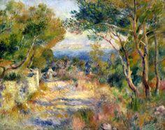Pierre Auguste Renoir - L'Estaque, 1882