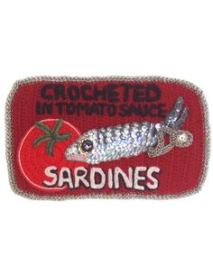 Sardines Crocheted - Fish and Stitches by Kate Jenkins