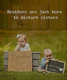 Best Brother Quotes and Sibling Sayings Collection From Boostupliving. Here we've collected more than 100 Best Brother Quotes For you. Brother Sister Love Quotes, Brother Humor, Sister Quotes Funny, Brother And Sister Love, Cute Funny Quotes, Brother Sister Relationship Quotes, Bro And Sis Quotes, Funny Jokes, Daughter Poems
