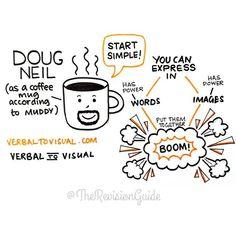 Verbal to Visual by @dougneill #verbaltovisual #sketchnote #doodlesummit @dianebleck 😍 😍 #TheRevisionGuide_Sketchnotes . . . . . . #TheRevisionGuide_HowTo #sketchnotes #visualnotes #visualthinking #revisionnotes #notetaking #studynote #study #aslevel #alevel #alevels #gcse #doodle #studytips #studying #studyblr #studytime #studygram #studymotivation #studyspo #studyinspiration #studentlife #school #planner #bulletjournal #bujo