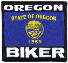 "Embroidered Iron On Patch - Oregon State Biker 3.5"" Flag Iron On patches http://www.amazon.com/dp/B00EGGOHBM/ref=cm_sw_r_pi_dp_pdFYtb1H33Q4G4TK"