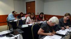 Excelente participación por parte de todos los asistentes dentro del curso.