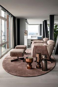 Swivel Armchair, Chair And Ottoman, Tiny House, Love Seat, Luxury, Interior, Dutch, Table, Designers