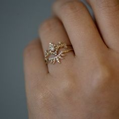 """28 Delicate Engagement Rings That'll Make You Say, """"I Do!"""""""