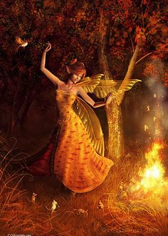 Forest fire fairy❁╰☆╮✥❤✥╰☆╮❁