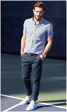 Have a semi-formal event? Dress up in chinos and you are good to go.