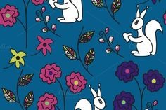 Check out Five seamless patterns by LuizaVictorya on Creative Market