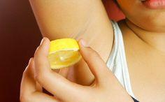 REMEDIOS CASEROS PARA BLANQUEAR LAS AXILAS Limon-axilas  http://notipanda.com/remedios-caseros-para-blanquear-las-axilas-y-cuello/