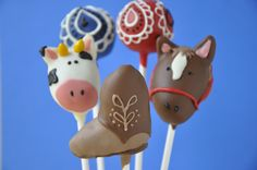 Lil Cutie Pops, Western themed cake pops