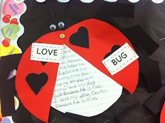Adventures of a Third Grade Teacher: Catch the Love Bug-This is a GREAT writing activity for Valentine's day!
