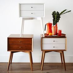 midcentury side table - Google Search