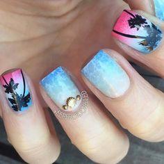 35 Holiday Nails for Summer 2016 at CherryCherryBeauty.com