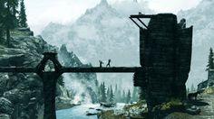 Кинематографические пейзажи-скриншоты из видеоигр