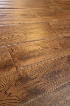 "Oak Gunstock Dark 5/8 x 5"" Hand Scraped | Engineered Hardwood Flooring | WeShipFloors"