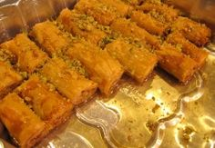 Our Lebanese Baklava Recipe is very easy to prepare at home and it yields delicious authentic Baklava fingers. Try our Baklava Recipe and let us know how it. Lebanese Baklava Recipe, Baklava Roll Recipe, Lebanese Desserts, Lebanese Cuisine, Easy Lebanese Recipes, Middle Eastern Desserts, Middle Eastern Dishes, Lebanon Food, Rolls Recipe