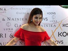 Urvashi Rautela looks H*T at Gauri & Nainika's KOOVS launch party.