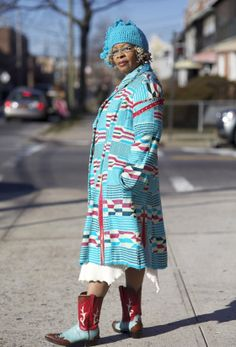 NPR: Celebrating Older Women with Fabulous Style; Lois Kinley, New York City, 2012